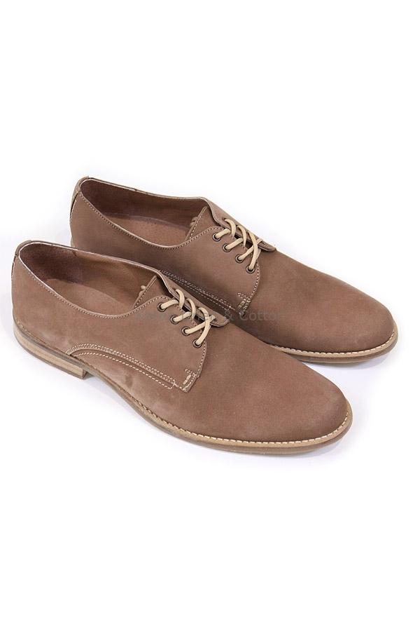 8e9f4a8e Zapato de Piel Para Vestir Hombre Color Canela Zapatos