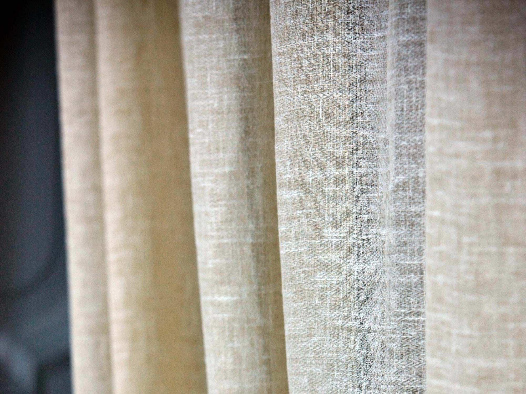 Tela de lino - Tipos de telas para cortinas ...