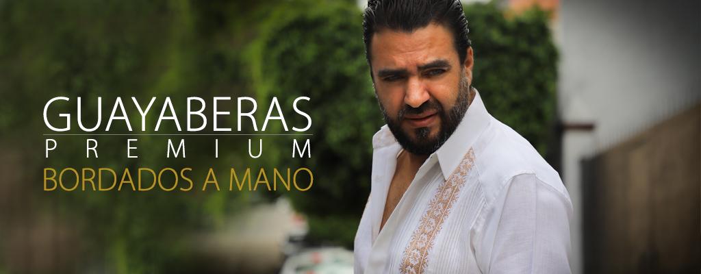 Guayabera Premium - Lino & Bordado a Mano