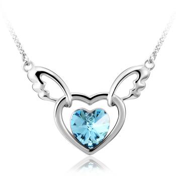 Collar de Corazón Swarovski JOYERIA