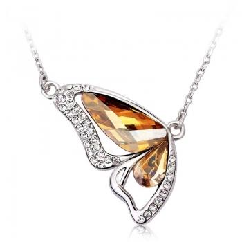 Swarovski Butterfly Necklace JEWELRY