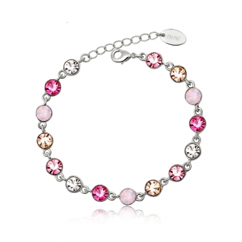 Bracelet with Color Crystals JEWELRY