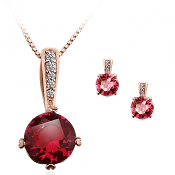 Beautiful Swarovski Party Set JEWELRY