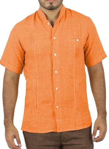 Orange Short Sleeve Shirt SHIRTS