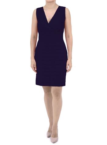 Vestido Azul Marino de Lino 100% VESTIDOS