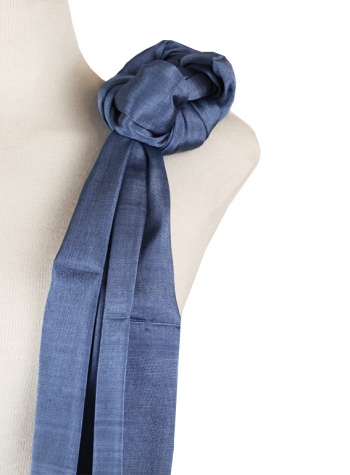 Shawl Simple Blue Denim SHAWLS & SCARVES