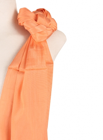 Shawl simple Salmon SHAWLS & SCARVES