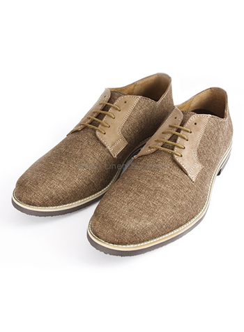 Leather shoes Curry color Capuccino SHOES FOR MEN