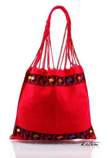 Boho Handwoven Cotton Bag BAGS & POUCHES