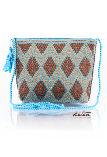 Aqua Shoulder Pouch Waist Loom BAGS & POUCHES