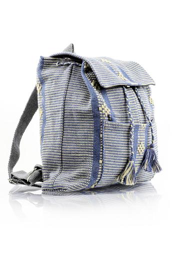 Mexican Folkart Azul Acero Waist Loom Backpack BAGS & POUCHES