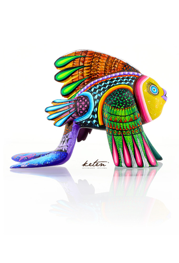 Fish Alebrije Hand Carved Wood Hand Painted ALEBRIJES - CARVED PIECES