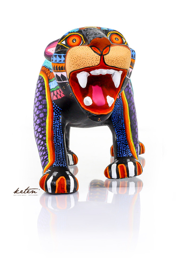 Carved Wood Hand Painted Alebrije From Mexico ALEBRIJES - CARVED PIECES