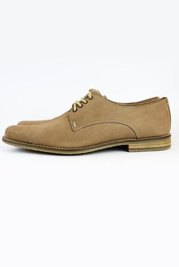 Zapato de Piel Para Vestir Hombre Color Canela ZAPATOS
