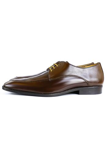 Zapatos de Piel color Atañado Moka ZAPATOS