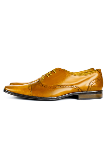 Leather Shoes Honey Color SHOES FOR MEN