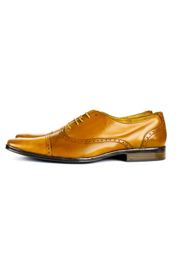 Zapatos de Piel Color Miel Cafe ZAPATOS