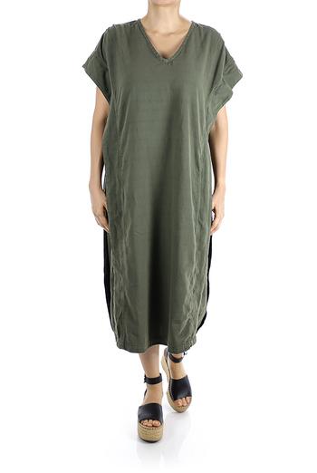 Vestido Largo de Algodón 100% Relax Fit MUJER