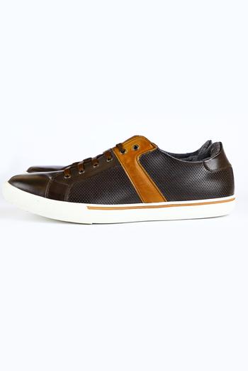 Zapatos Casuales Color Cafe ZAPATOS