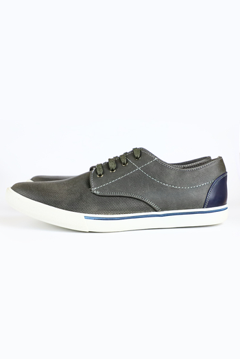 Gray Color Casual Shoes For Men SHOES FOR MEN