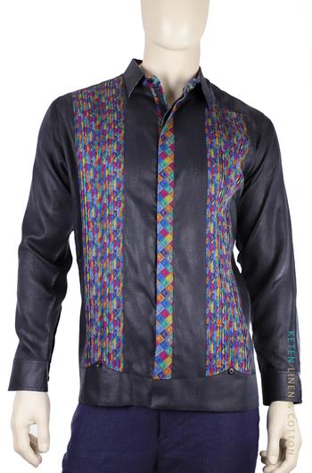 Linen Guayabera Shirt Keten Exclusive GUAYABERAS