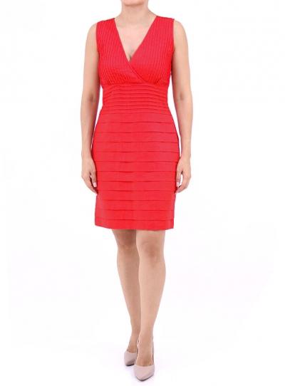 Red Linen Dress 100% Natural Fabric DRESSES