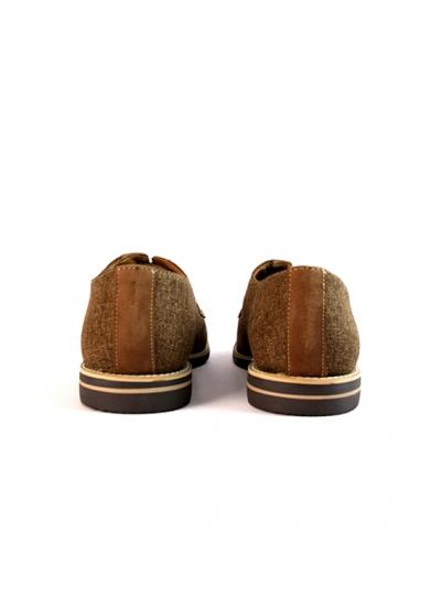 Zapatos de Piel color Curry Capuccino Zapatos