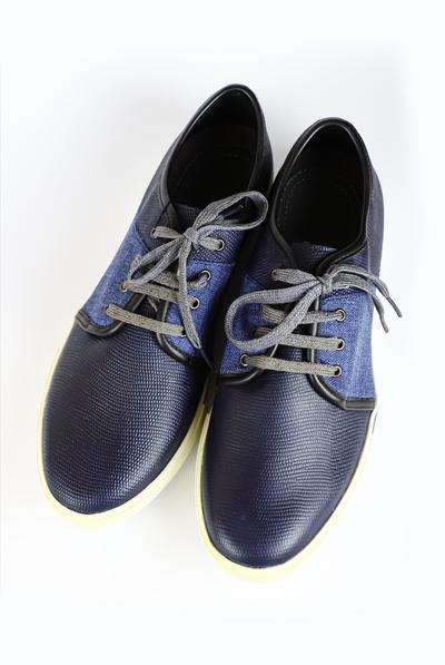 Blue Color Casual Shoes For Men SHOES FOR MEN