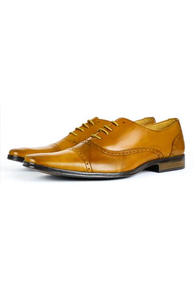 Leather Shoes Honey Color SHOES FOR MEN