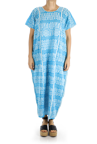 Traditional High Quality Handmade Waist Loom Mexican Dress WOMEN