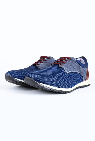 Blue Color Casual Tenis Shoes For Men SHOES FOR MEN