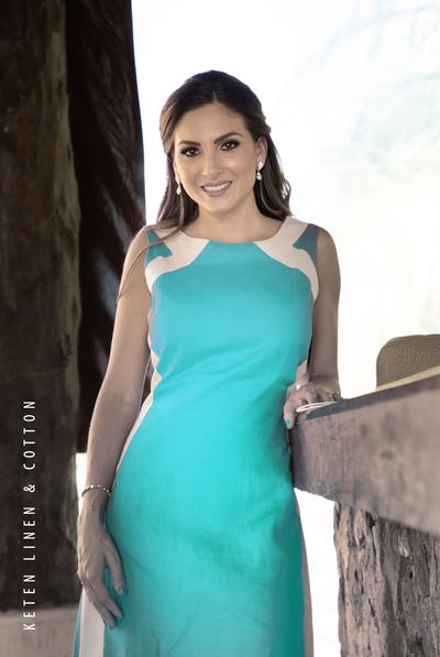 Beautiful Linen Dress 100% in Emerald Green DRESSES