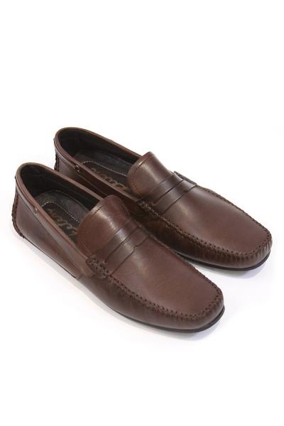 Zapato de Piel Premium Para Vestir Color Moka Cafe Oscuro Zapatos