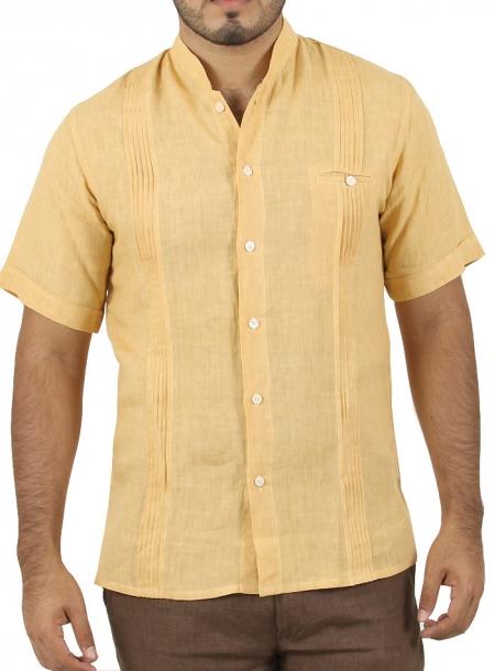Camisa de Moda color Amarillo CAMISAS