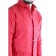 Camisa de Lino 100% Bordado Color Coral CAMISAS