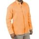 Camisa de Hombre Manga Larga Naranja CAMISAS