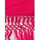 Simple pink Mexican shawl SHAWLS & SCARVES