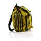 Mochila Amarilla Negra Artesanal Telar de Cintura Hecho a Mano BOLSAS & CARTERAS