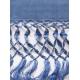 Shawl Simple Blue Denim SHAWLS & SCARVES