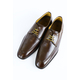 Leather shoes color Attacked Mocha SHOES FOR MEN