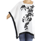 White Linen Top Handmade Embroidery TOPS