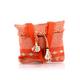 Hermoso Bolso Pouch Rosa / Naranja Telar De Cintura BOLSAS & CARTERAS