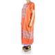 Traditional High Quality Orange Color Handmade Waist Loom Mexican Dress WOMEN