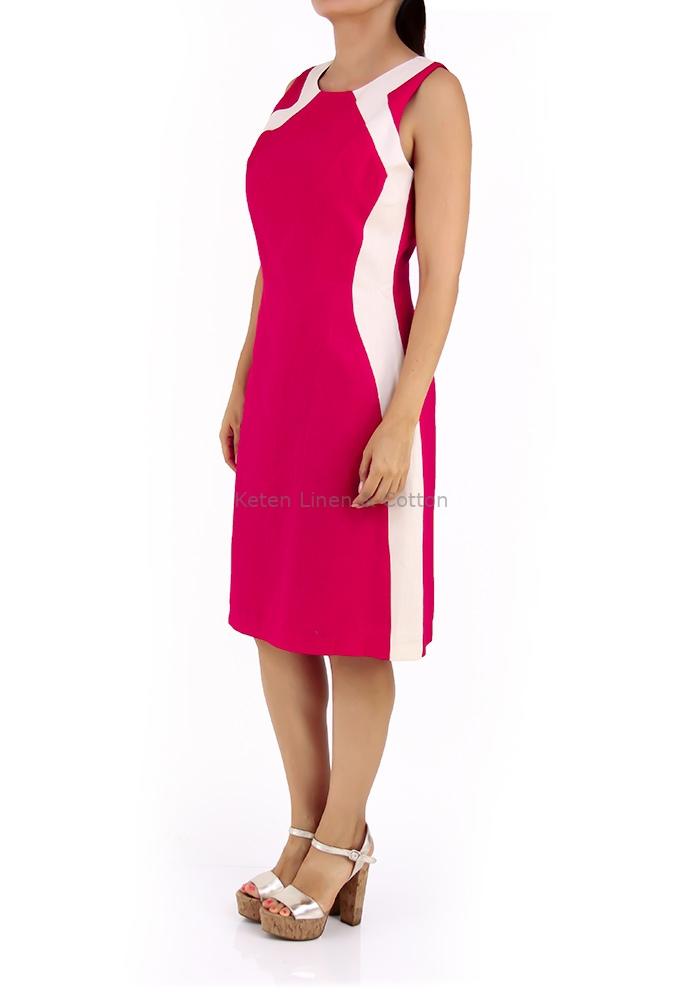Beautiful 100/%  linen dress